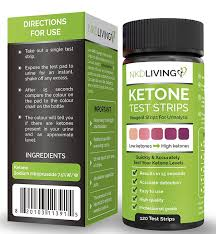 New Design 120 Ketone Test Strips By Nkd Living 120 Test Strips 2 Stay Fresh Packs X 60 Accurately Detect And Measure Ketones Made For Ketogenic