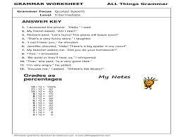 Grammar Quotes Custom Grammar Quotes Elegant Until English Grammar Quoted Speech Quoted