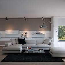 Contemporarylivingroomfurniturewithblackcarpetandwhite Black Living Room Rugs
