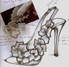 Footwear Design Fashion Sketchbook Footwear Design Drawing Fabric