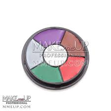 details about devil 6 grease paint wheel palette oil fx makeup wound injury cream