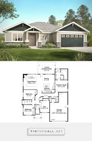 Craftsman style house plan 3 beds 2 baths 2015 sq ft plan 124