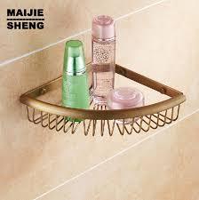 Image Bookcase Bathroom Shelf Whole Brass Antique Triangle Corner Shelf Shower Bathroom Holder Corner Shelf Aliexpresscom Bathroom Shelf Whole Brass Antique Triangle Corner Shelf Shower