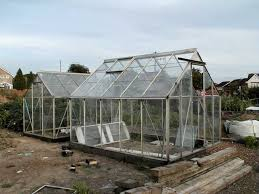 greenhouse near finished