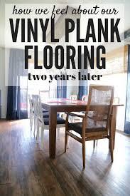 stylish luxury vinyl wood plank flooring reviews vinyl plank flooring 2 years later love renovations