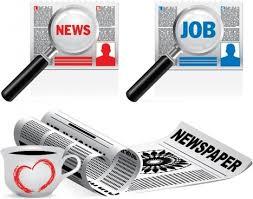 Free Newspaper Template Illustrator Free Vector Download