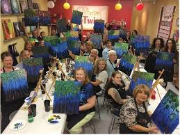 paint night painting with a twist paint newark de activity date night