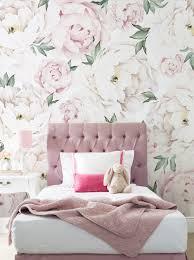 pink peony flower mural peony flower mural wall art wallpaper