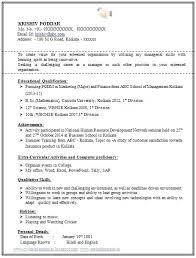 how to format my resume resume format for experienced sample template of a  fresher and student