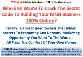 jakarta online event how to build your mlm business  if you are not ready for these insider secrets leave now and don t waste your time