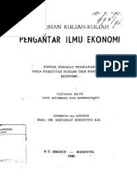 Digital 20394088 Pengantar Ilmu Ekonomi Pdf