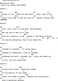 Revelation Song Chord Chart Revelation Song Hallelujah Ukulele Chords Ukulele Songs