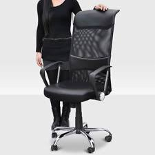 ergonomic mesh office desk chair with adjustable arms. swivel executive office chair mesh seat adjustable computer desk high back ergonomic with arms