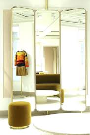 tall standing mirrors.  Tall Gold Framed Floor Mirror Long Standing Mirrors Tall  Intended Tall Standing Mirrors