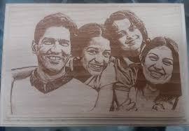 rectnagle wood engraving w128 vijaya crystal arts personalized gifts at vijaya crystals