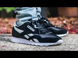 reebok classic nylon black white on feet sneaker review 03 01 6 120