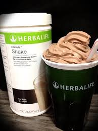 hershey s special dark cement ice cream get out your blender put 6 oz cold water in you blender add 2 scoops of herbalife chocolate protein drink mix