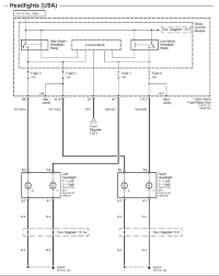 my lowbeam headlights in my 2003 honda accord v6 are not working but they do share a low beam relay it is located in the fuse relay panel under the hood here is a wiring diagram of the low and high beam circuits