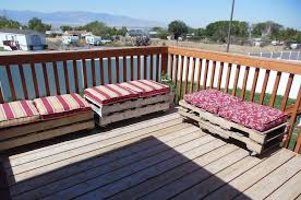 The Useful of Pallet Deck Furniture Ideas — TEDX Decors