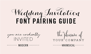 10 infographics on how to mix fonts like a pro ~ creative market blog Wedding Invitation Free Fonts Download 9 wedding font combos free downloadable wedding invitation fonts