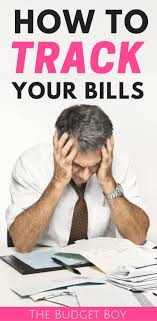 How To Track Your Bills And Never Miss A Payment The Budget Boy
