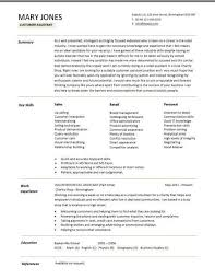 Shoe Repair Sample Resume Best A Customer Assistant CV Example In A Modern Design Resumes