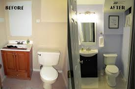 inexpensive bathroom designs. Simple Renovation For Small Bathroom Before And After: Thumbnail Inexpensive Designs E