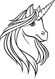 Free printable unicorn coloring pages for kids. Beautiful Unicorn Head Coloring Page Free Printable Coloring Pages For Kids