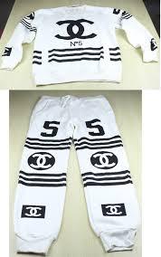 chanel tracksuit. sweater: joggers, sweatsuits, chanel, chanel tracksuit, joggers + jumper, fake cc suit, sport sportswear, women sets, tracksuit