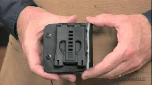 Kydex Magazine Holder Brownells AR100M100 Kydex Magazine Pouch YouTube 41