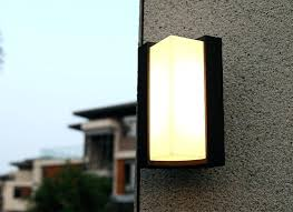 light led outdoor lights fashion garden wall lighting waterproof double sided exterior decorative pir uk