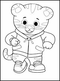 Awesome Of Free Printable Daniel Tiger Coloring Pages Collection
