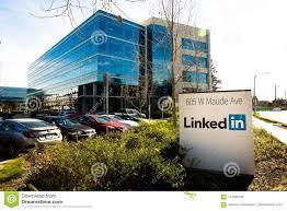 Sunnyvale Ca Usa Feb 1 2018 Building Of A Linkedin