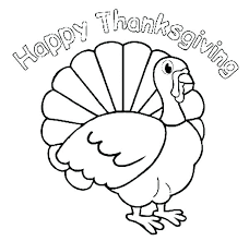 Turkey Printable Coloring Pages Preschool Thanksgiving Bible