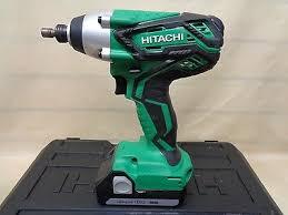 hitachi wh18dgl. hitachi 18v li cordless 1/4 impact driver kit wh18dgl w/ case | what\u0027s it worth n