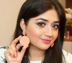 review makeup geek summer fling blush swatch review