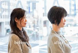 40代50代髪型ショートボブビフォアアフター動画 40代50代60代髪型