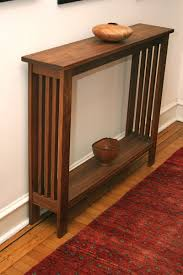 Einnehmend Small Skinny Entryway Table Half Rustic Decor Engaging