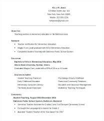 Free Resume Samples For Freshers Resume Letter Directory
