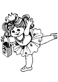 Kleurplaat Ballerina Afb 8609 Images