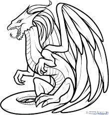 Pictures Of Dragons To Colour In Dragon Coloring Pages Fun Pictures