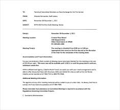 Meeting Announcement Template 3 Meeting Announcement Templates Pdf Word Free