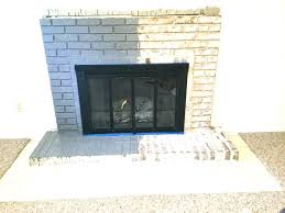 fireplace brick painting fireplace brick paint inspirational painted fireplace makeover fireplace brick