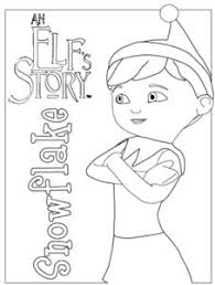 Small Picture Elf On The Shelf Coloring Pages