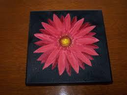 gerbera daisy painting by leg7930