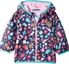 Columbia Kids Baby Girls Mini Pixel Grabber Ii Wind Jacket Infant Toddler Nocturnal Critters 6 12 Months