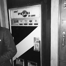Vending Machine Break In Cool When The Front Door To The Next Bar Is A Pepsi Vending Machine