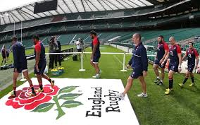 england stride out at twickenham where being patriotic and partisan go hand in hand