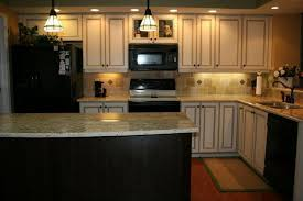 painted kitchen cabinets with black appliances. Kitchen Cabinet Color Ideas With Black Appliances Paint Colors Oak Cabinets And Painted I