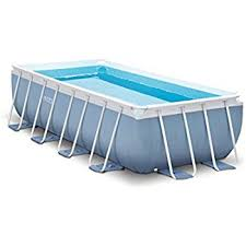 Amazoncom Intex 16ft X 8ft X 42in Rectangular Prism Frame Pool